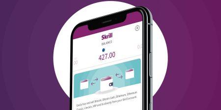 Depositar fondos en Binomo a través de Skrill