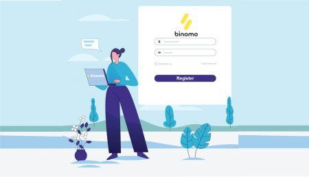 Cómo iniciar sesión y verificar la cuenta en Binomo